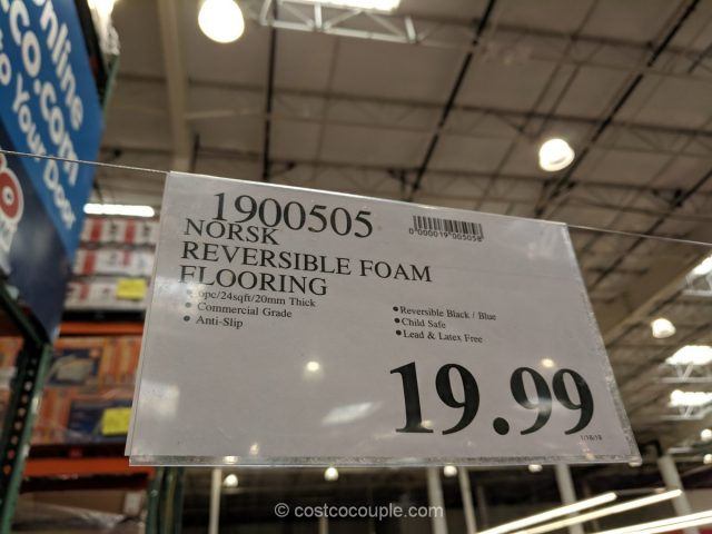 Norsk Reversible Foam Flooring Costco