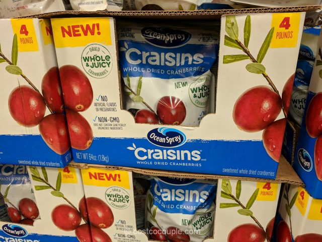 Ocean Spray Whole Craisins Costco