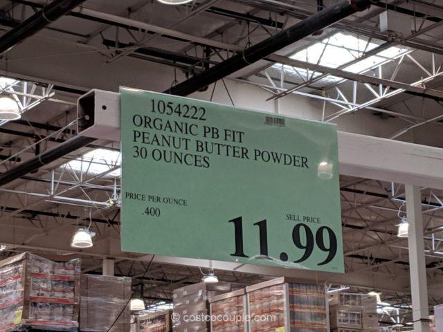 PB Fit Organic Peanut Butter Powder Costco