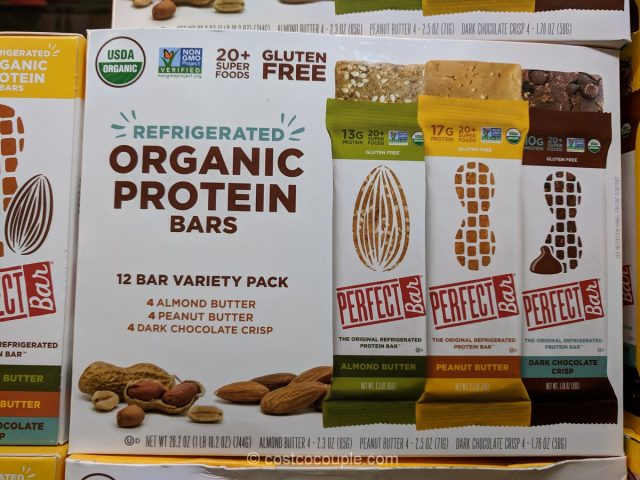 Perfect Bar Refrigerated Organic Protein Bars Costco