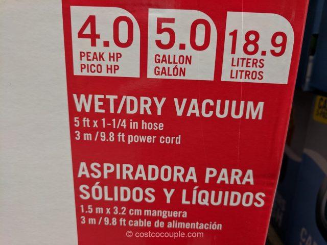 Porter Cable Wet Dry Vacuum Costco