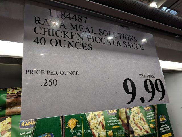 Rana Tagliatelle Grilled Chicken and Piccata Sauce Costco