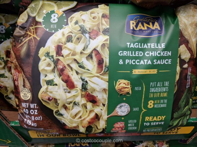 Rana Tagliatelle Grilled Chicken and Piccata Sauce Costco
