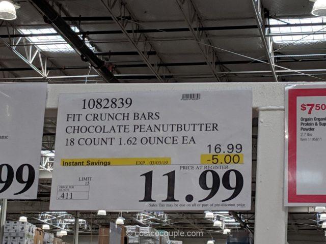 Robert Irvine Fit Crunch Protein Bar