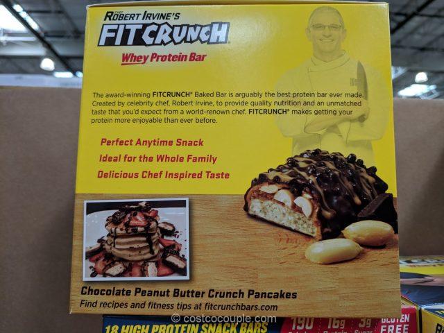 Robert Irvine Fit Crunch Protein Bar Costco