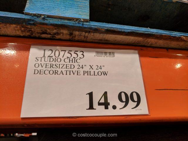Studio Chic Oversized Decorative Pillow Costco
