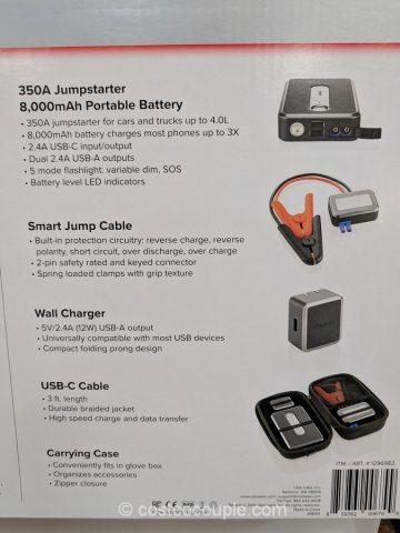 Ubiolabs Smart Portable Jumpstarter Costco