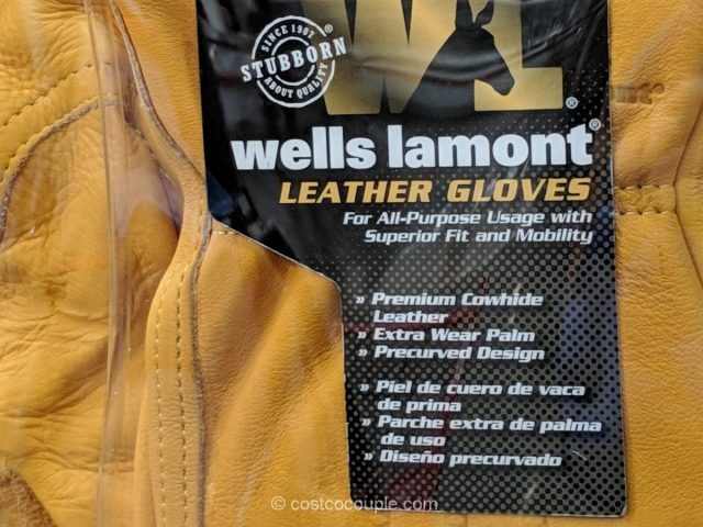 Wells Lamont Leather Work Gloves Costco