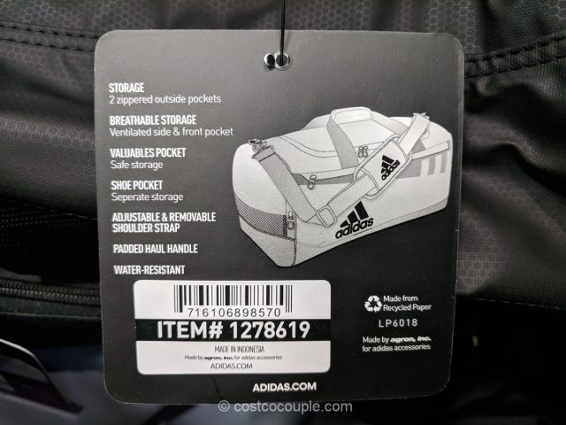 Adidas Duffel Bag Costco