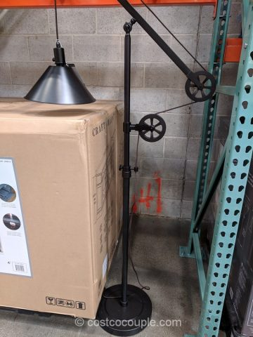 Bridgeport Designs Pulley Floor Lamp