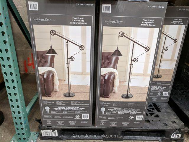 Bridgeport Designs Pulley Floor Lamp Costco