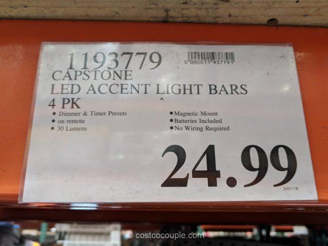 Capstone LED Accent Light Bars Costco