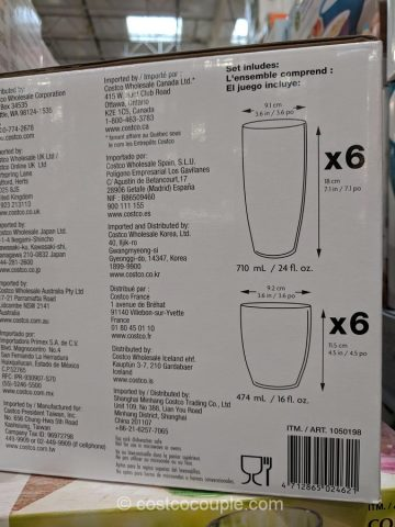 First Design Global Tritan Drinkware Set Costco