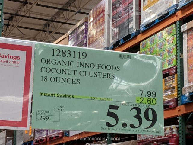 Inno Foods Organic Coconut Clusters Costco