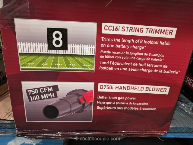 Jonsered Cordless String Trimmer and Handheld Blower Combo Pack Costco
