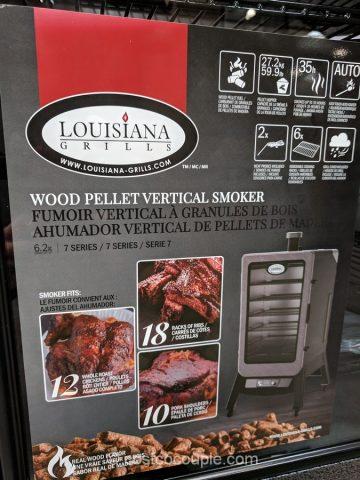 Louisiana Grills Wood Pellet Vertical Smoker