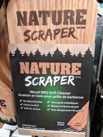 Nature Scraper Wood BBQ Grill Cleaner Costco