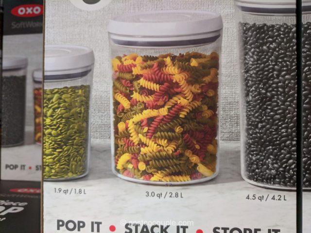 Oxo 3-Piece Pop Canister Set Costco