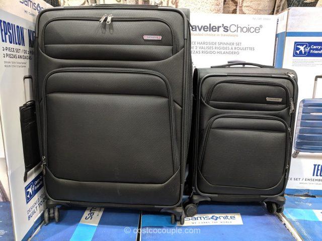 Samsonite Epsilon Softside Luggage Set Costco
