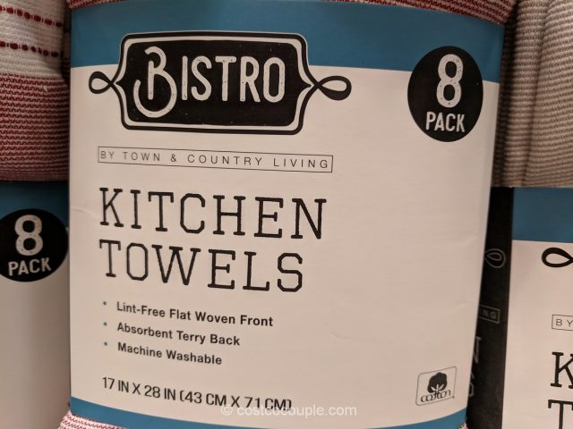 Town and Country Bistro Kitchen Towels