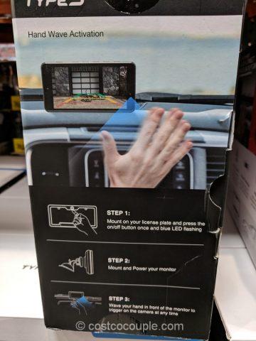 Type S Solar Powered Backup Camera