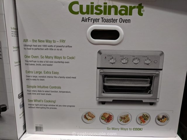 Cuisinart Airfryer Toaster Oven Costco