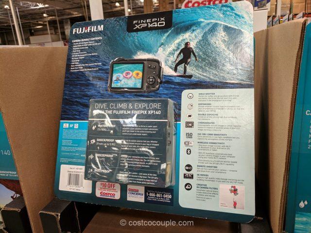 Fuji XP140 Waterproof Camera Costco