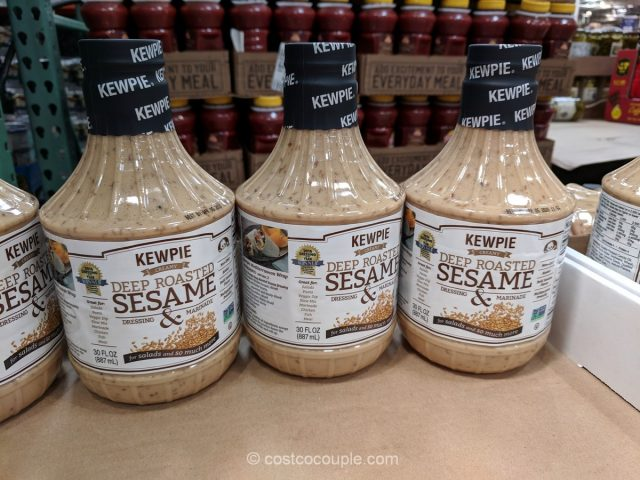 Kewpie Deep Roasted Sesame Dressing Costco