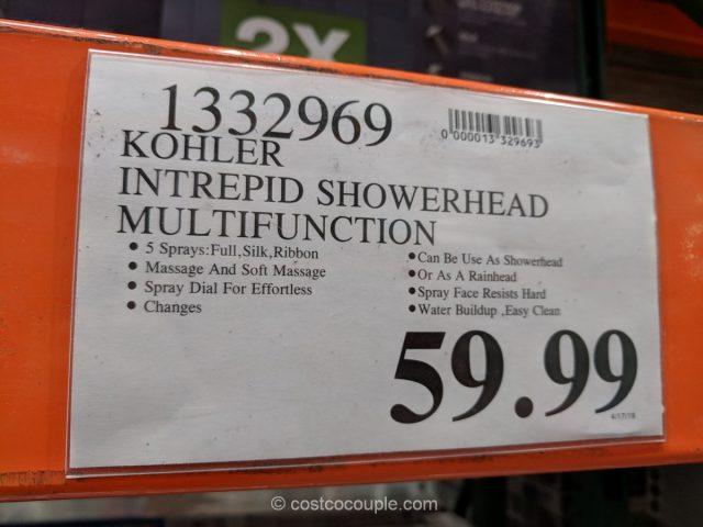 Kohler Intrepid Showerhead Costco