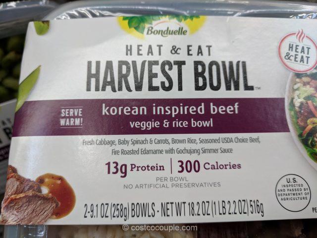 Korean Inspired Beef Harvest Bowl Costco