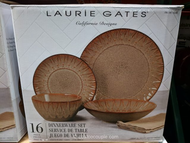 Laurie Gates Stoneware Dinnerware Set