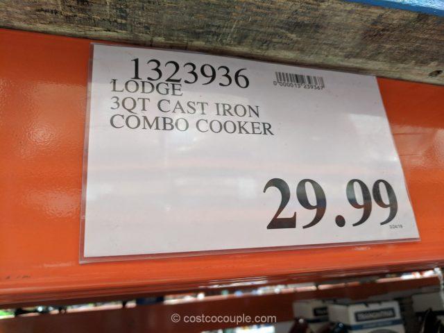 Lodge 3 Qt Cast Iron Combo Cooker Costco