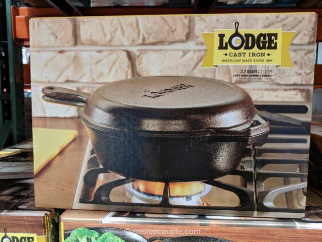 Lodge 3 Qt Cast Iron Combo Cooker