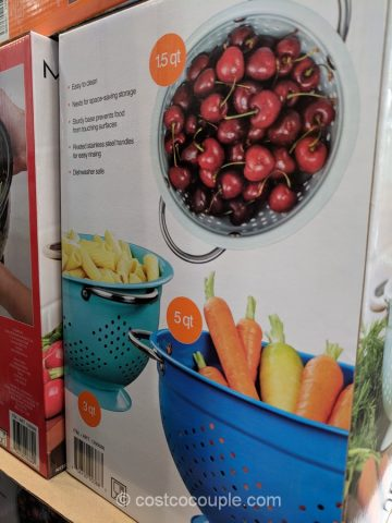 Miu 3-Piece Colander Set Costco