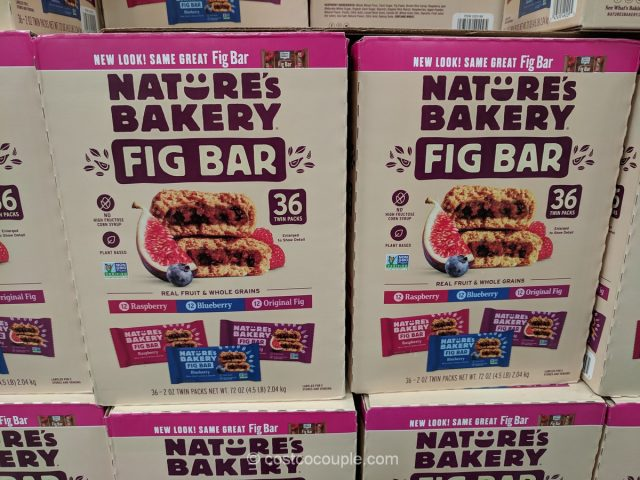 Nature's Bakery Fig Bar Costco