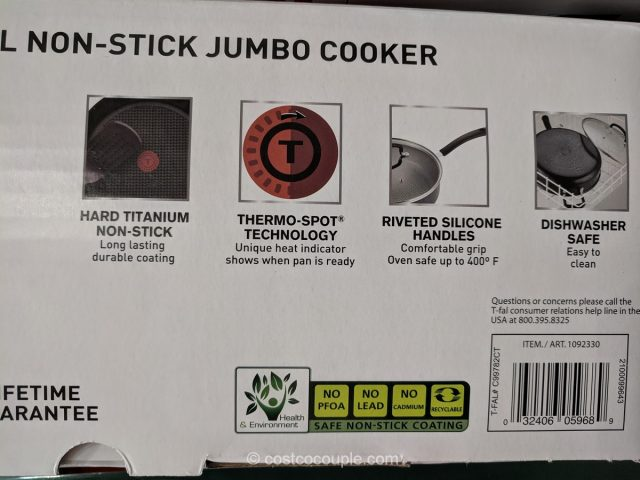 T-Fal Jumbo Cooker Costco
