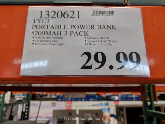 Tylt Portable Power Bank Costco