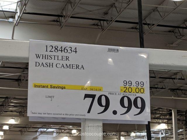 Whistler Dash Cam Costco