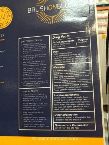 Brush On Block Mineral Powder Sunscreen Costco