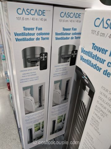 Cascade Tower Fan Costco