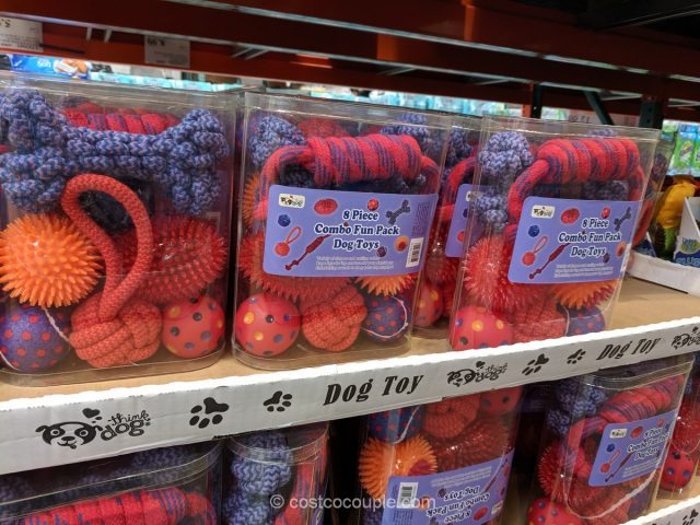 Combo Fun Pack Dog Toys Costco