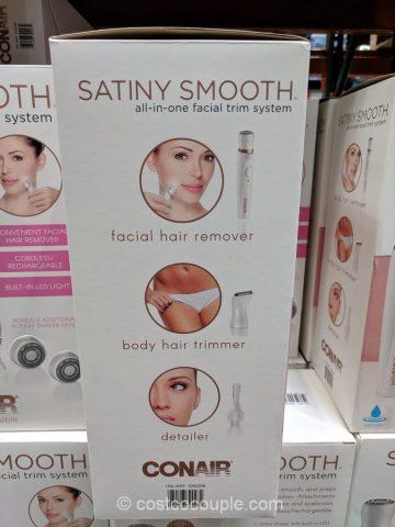 Conair Satiny Smooth Facial System Costco