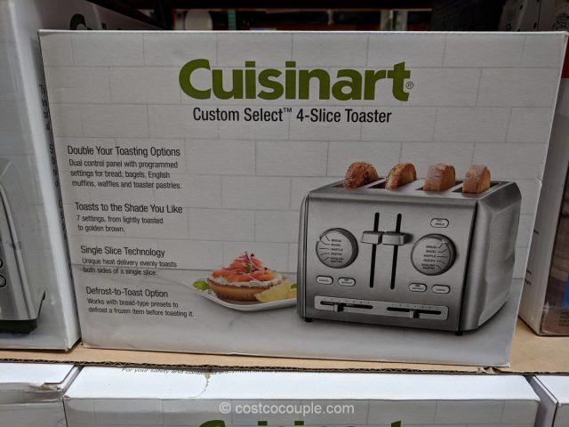 Cuisinart 4-Slice Toaster RBT-1285PC Costco