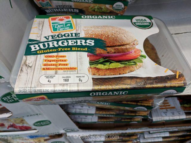 Don Lee Organic Veggie Burger Costco