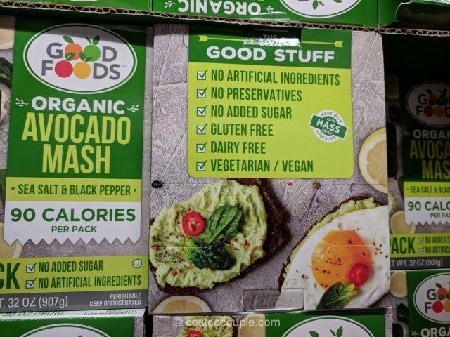Good Foods Organic Avocado Mash Costco