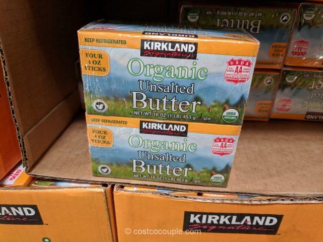 Kirkland Signature Organic Unsalted Butter Costco