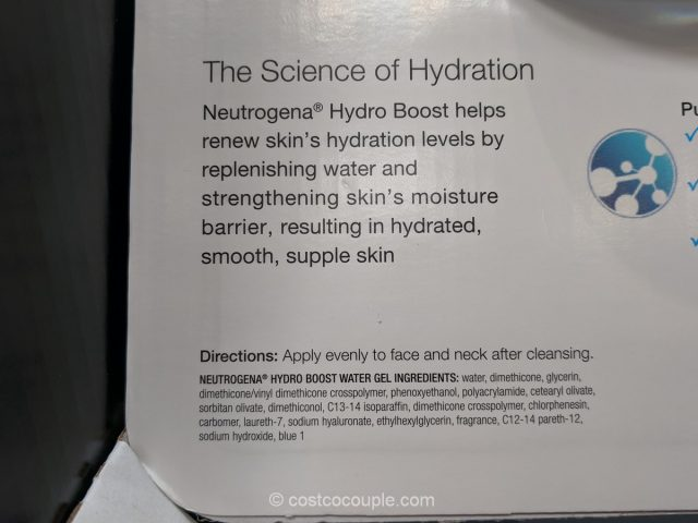 Neutrogena Hydro Boost Water Gel Costco