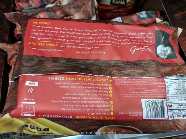 Rana Meal Solutions Bolognese Lasagna Bake Kit