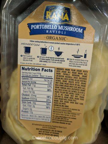 Oil Change Coupon >> Rana Organic Portobello Mushroom Ravioli