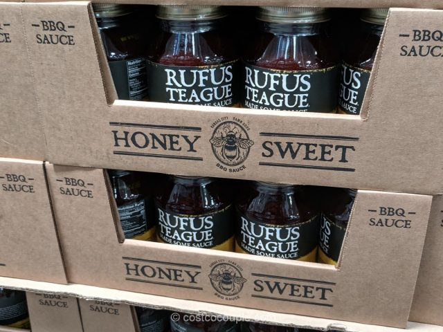 Rufus Teague Honey Sweet BBQ Sauce Costco